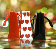 Gift shopping bags Royalty Free Stock Image