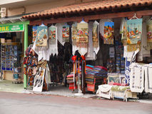 Gift Shops Crete Stock Images