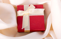 Gift for silk Royalty Free Stock Image