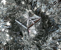 gift silver Στοκ Φωτογραφία