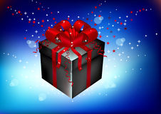 Gift, souvenir on a holiday Royalty Free Stock Photography