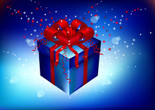 Gift, souvenir on a holiday Royalty Free Stock Photos