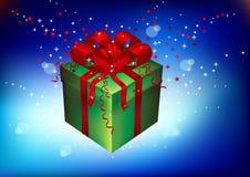 Gift, souvenir on a holiday Royalty Free Stock Photos