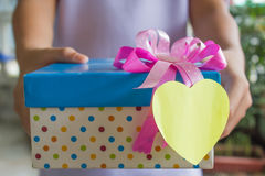 Gift for special day Stock Images
