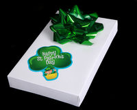 Gift for St. Patrick's Day Stock Photos
