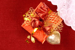 Gift for St. Valentine Day Stock Photo