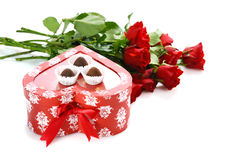 Gift for St.Valentine's Day Stock Images