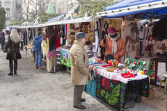 Gift stall Royalty Free Stock Images