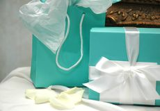 Gift Table Royalty Free Stock Photos