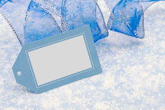 Gift tag Stock Photo