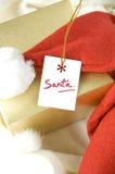 Gift tag for santa Royalty Free Stock Photos