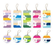 Gift Tags Stock Photography