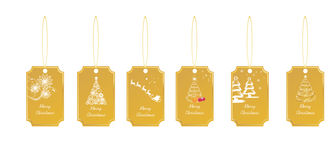 Gift tags Stock Photo