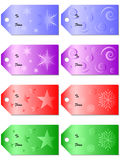 Gift Tags Stock Image