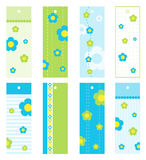 Gift tags. Set of gift vector tags Stock Photos