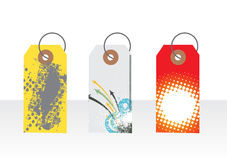 Gift tags Stock Images