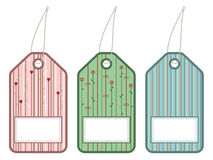 Gift tags Royalty Free Stock Photography