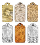 Gift Tags Old-fashioned. Royalty Free Stock Image