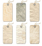 Gift Tags Old-fashioned. Stock Images