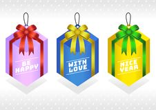 Gift Tags Present box vector illustration