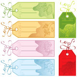 Gift tags, vector Stock Photo