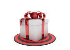 Gift Target Stock Photography