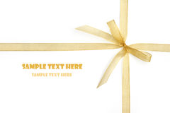 Gift Template (with clipping path) Stock Photo