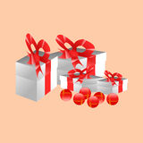 Gift texture Royalty Free Stock Image