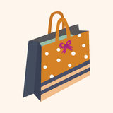 Gift theme flat icon elements background,eps10 Stock Photo
