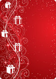 Gift-themed background Stock Photo