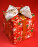 Gift tied with a ribbon Royalty Free Stock Image
