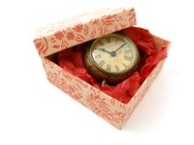 Gift of time Royalty Free Stock Photos