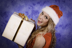 Gift time Royalty Free Stock Photography