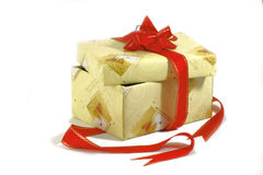 Gift to the holiday Royalty Free Stock Images