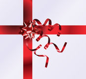 Gift Top View Royalty Free Stock Photo