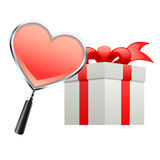 Gift for valentine Stock Images