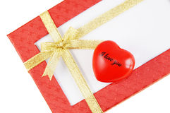 Gift for Valentine's Day Stock Photos