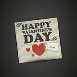 Gift for Valentines Day Royalty Free Stock Photos
