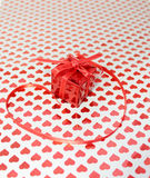 Gift on Valentine's Day Royalty Free Stock Photos