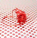 Gift on Valentine's Day Royalty Free Stock Images