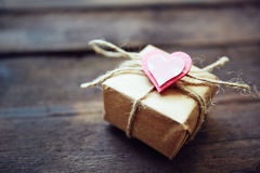 Gift for valentine Stock Photo