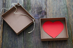 Gift valentines Royalty Free Stock Photo