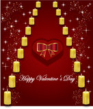 Gift for valentines day Royalty Free Stock Images