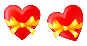 Gift in Valentines Day Stock Image