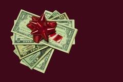 Gift van geld Stock Fotografie