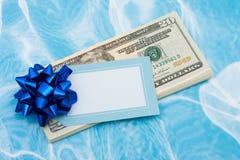 Gift van Geld royalty-vrije stock afbeeldingen