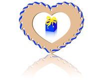 Gift van het hart Stock Foto's