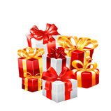 Gift vector illustration. Royalty Free Stock Image