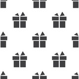 Gift, vector seamless pattern Royalty Free Stock Images