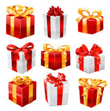 Gift vector set. Stock Photography
